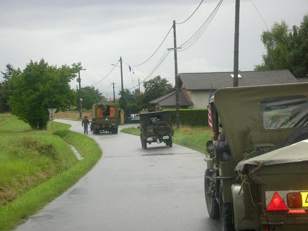 fete des vehicules militaires veigy-foncenex par l`AVM74 amicale des vehicules militaires de haute-savoie