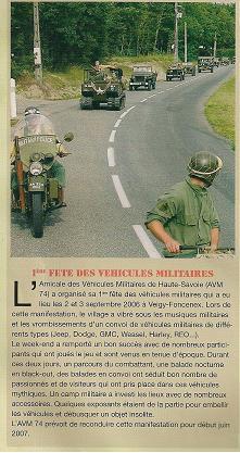 Véhicules Militaires n13