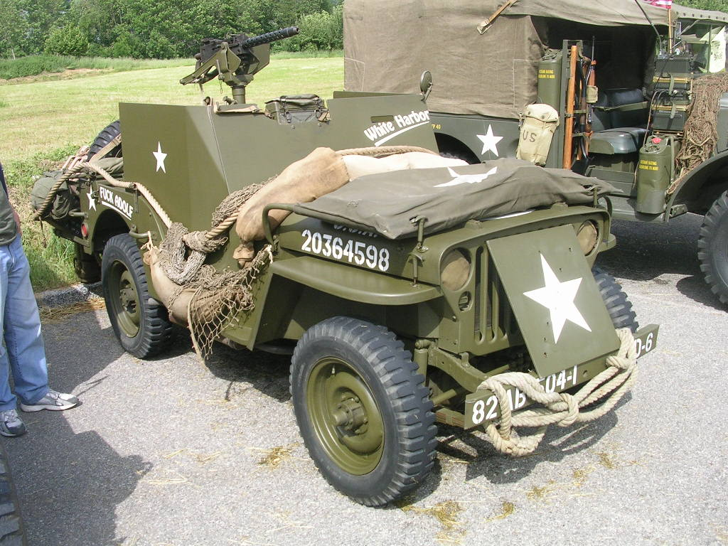 jeep blindée T25