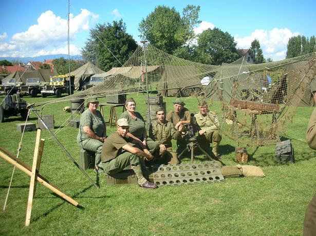 5e fête des véhicules militaires Veigy 2010 AVM74