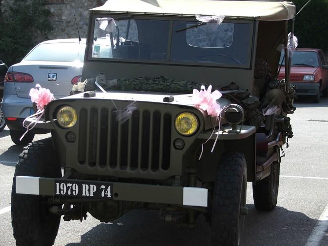 mariage jeep