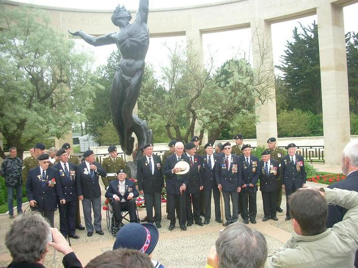 L`AVM74 au 65e anniversaire du débarquement en Normandie 2009